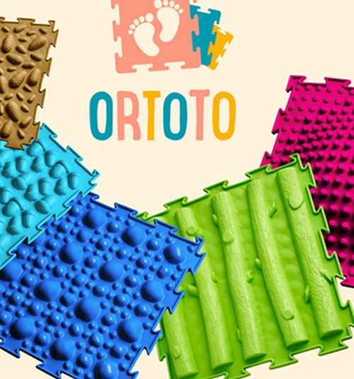 ORTOTO kilimėliai - masažas basoms kojytėms!