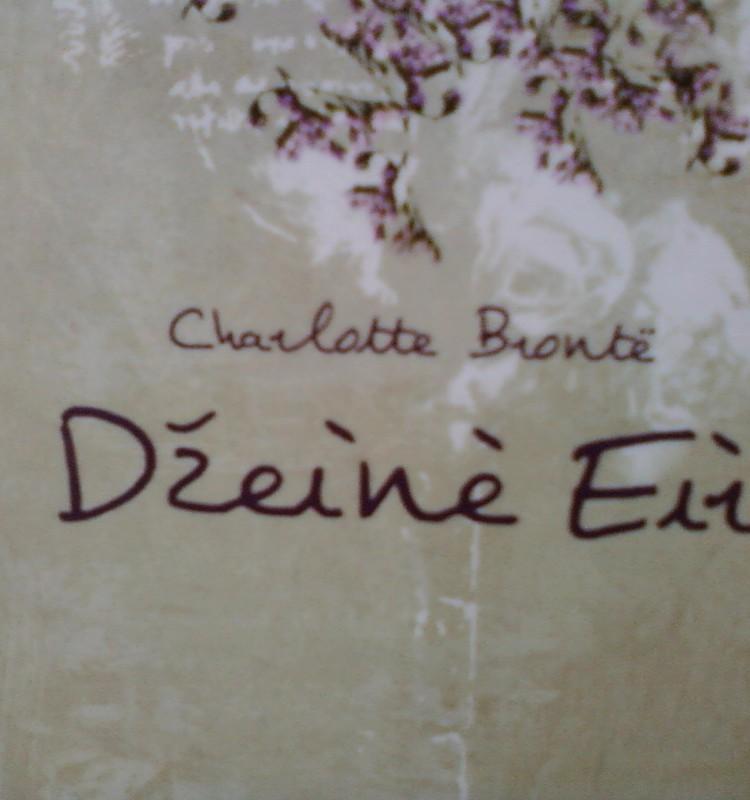 Šarlotė Brontė ,, Džeinė Eir''