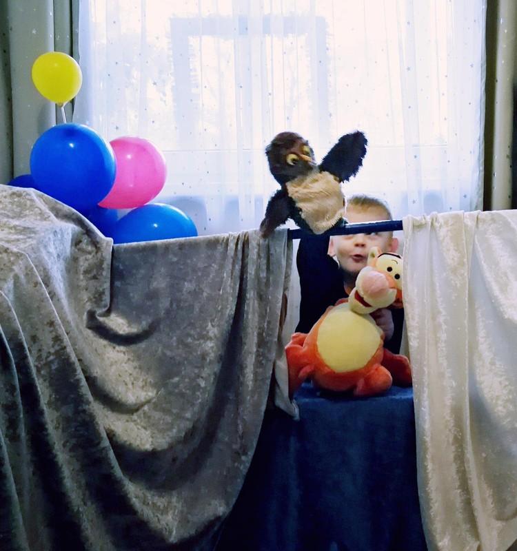 Lėlių teatras namuose