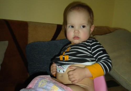 Gera žinia: Gabrielė jau nori pati sėstis ant puoduko