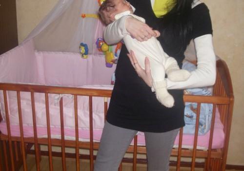 Nėštumo metu mažylė užspaudė mamytės inkstą