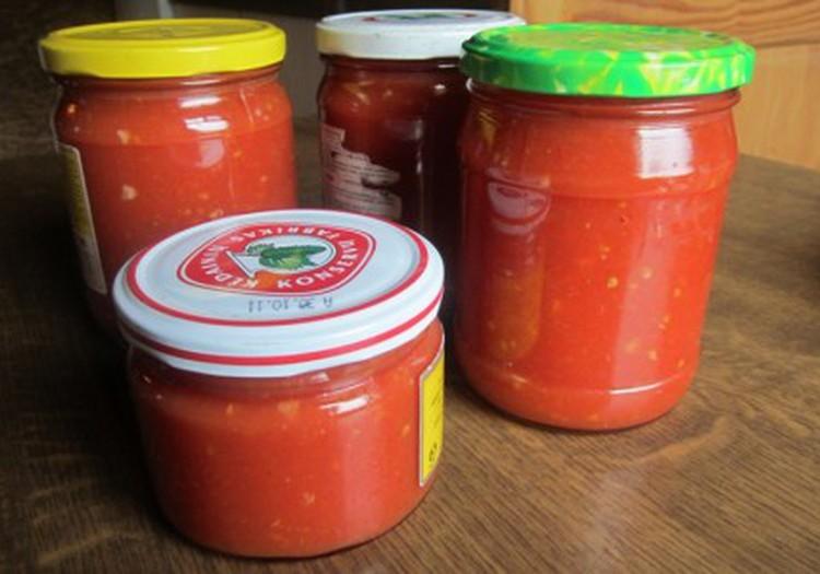 Naminis pomidorų padažas