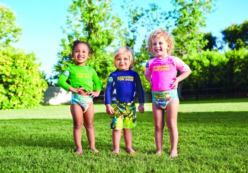Huggies® Little Swimmers® išbandys trijų mamų mažyliai: kas jie?