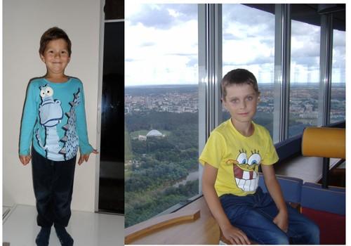 Vaikų analizė pagal nuotrauką - du berniukai