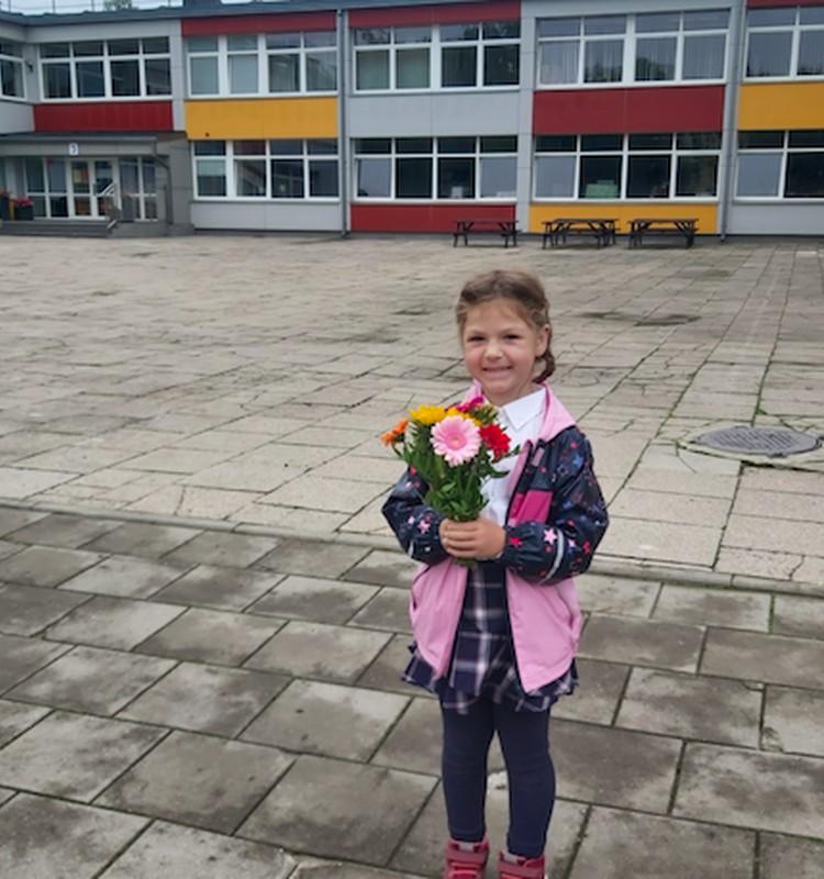 Pirmoji Žemynos diena mokykloje