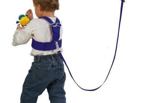 Ar galima naudoti petnešėles mažyliui vaikštant?