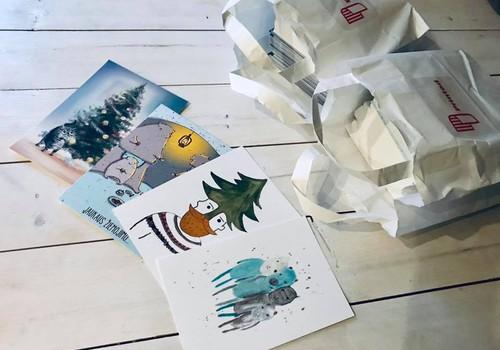 """Dalyvaukite paramos projekte """"Kalėdinis atvirukas LAIMINGI MŪSŲ NAMAI""""+Konkursas"""