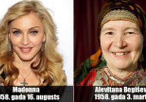 Vienodo amžiaus skirtingos moterys