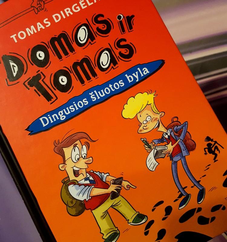 PRADINUKO SKAITINIAI: pažindinamės su Domu ir Tomu