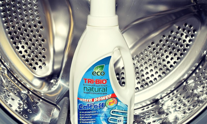 Bandau TRI-BIO produktus: natūralus eko vandens minkštiklis