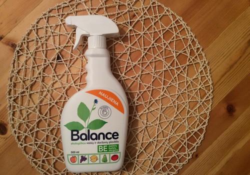 """""""Balance"""" ekologiškas vaisių ir daržovių ploviklis - puikus atradimas"""