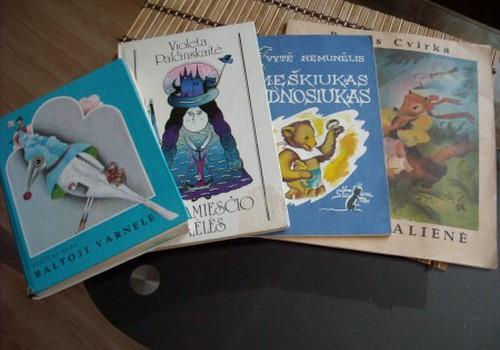 Mano vaikystėje – daugiausiai eilėraščių knygelių