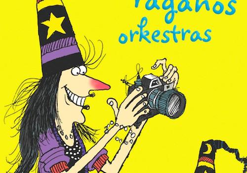 """Laimėk knygą """"Vinė ir vienos raganos orkestras"""""""