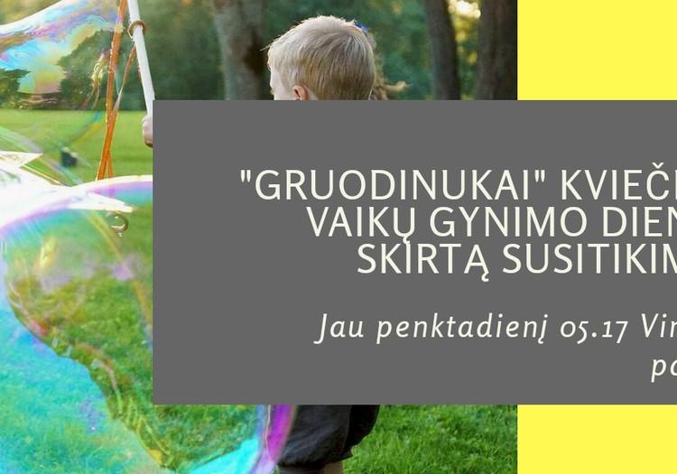 Gruodinukai šventė Tarptautinę vaikų gynimo dieną