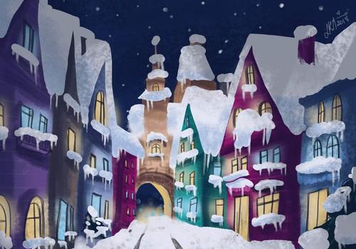 Žiemos pasaka. Sniegis. II dalis