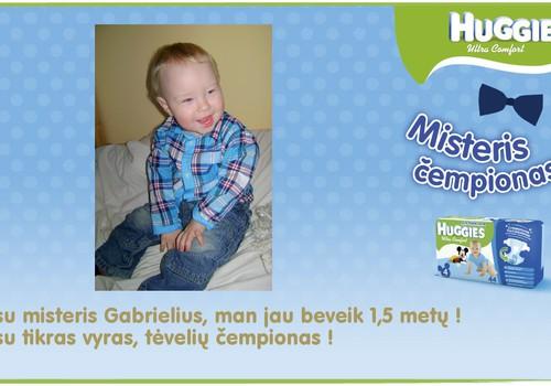 Mūsų mažasis čempionas Gabrieliukas
