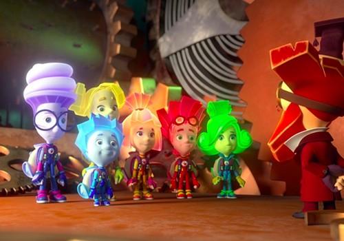 """Konkursas: Laimėkite kvietimus į naujausią animacinį filmą """"Fiksiai prieš Krabius""""."""