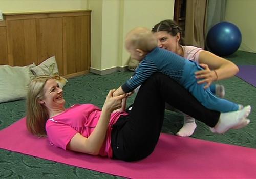 Kuo naudinga joga mamai ir mažyliui?