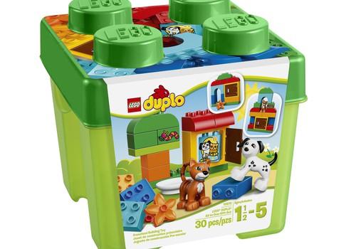 Konkursas Facebook'e - laimėk LEGO DUPLO rinkinį!