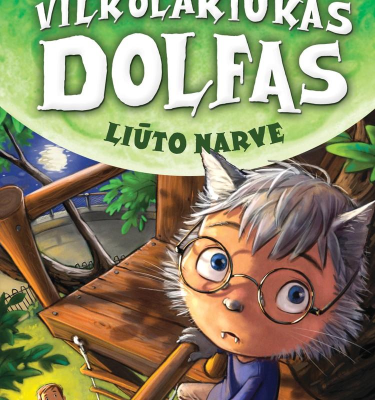 Kas laimi knygą apie vilkolakiuką Dolfį?