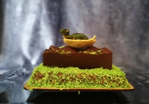 Dinozauriškas SMŪGINIS tortas