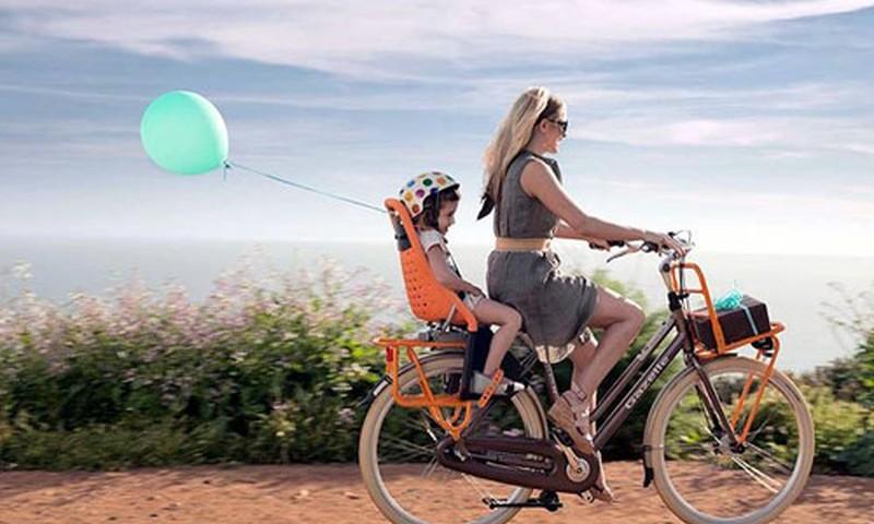 Atidarome dviračių sezoną! Būdai, kaip vežtis vaiką
