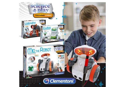 CLEMENTONI robotai - puiki dovana bet kokia proga!