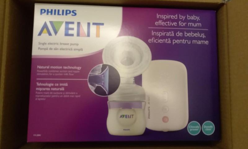Philips AVENT elektrinis pientraukis. Išbandome