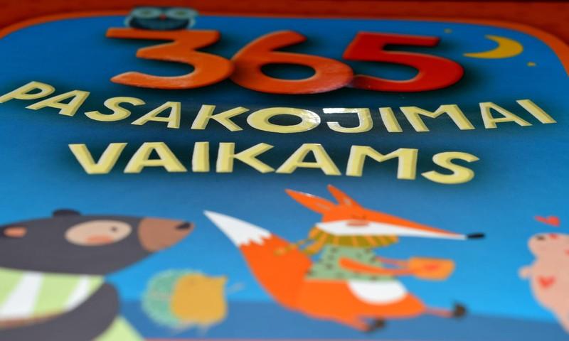 365 pasakojimai vaikams ir ne tik