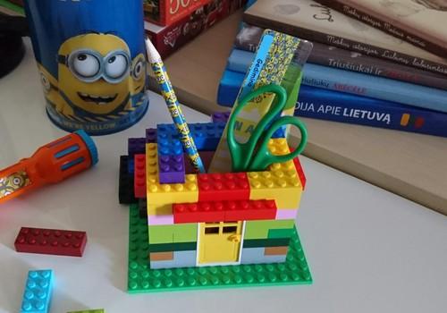 Mūsų namukas - pieštukinė iš Lego!