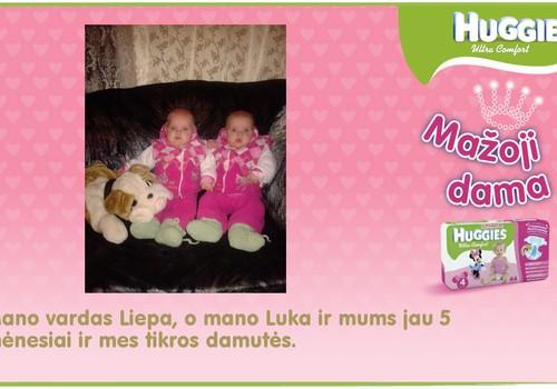 Mano mažosios damos Liepa ir Luka