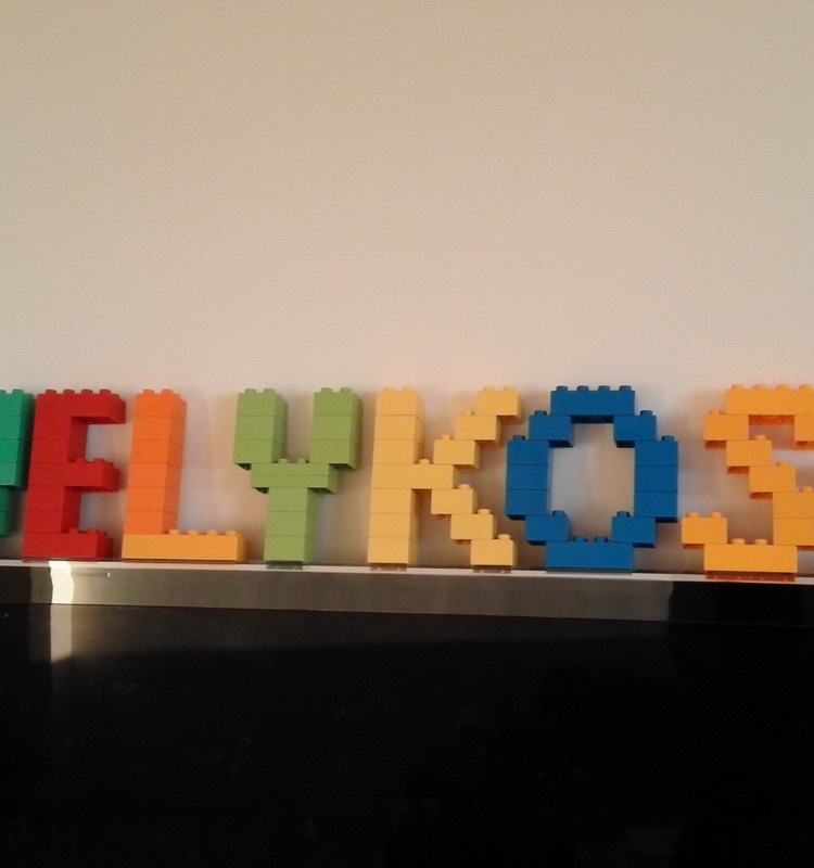 Puosiame namus su Lego duplo
