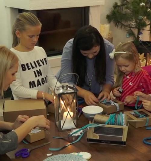 Puošiame namus kalėdiškai pajūrio tematika