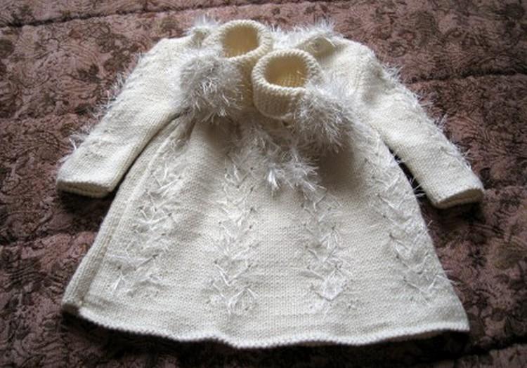 Šilta suknelė būsimam angeliukui