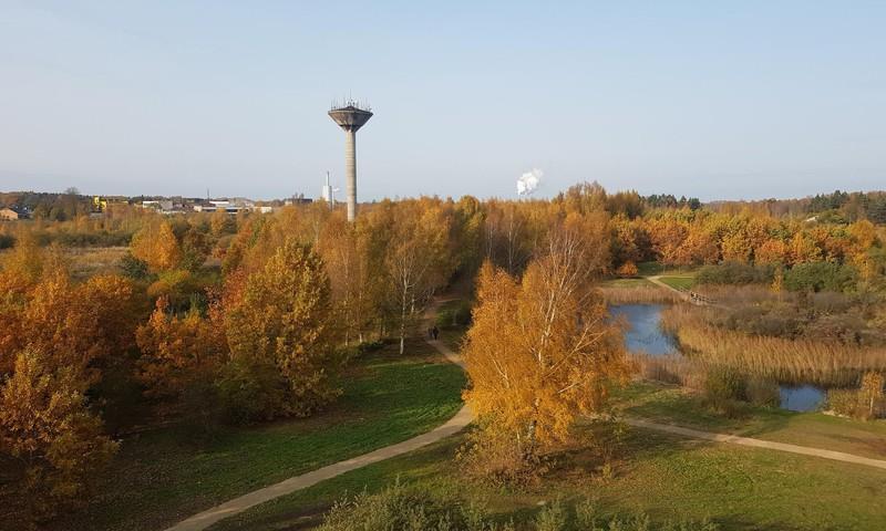 Atnaujintas ir vis gražėjantis parkas