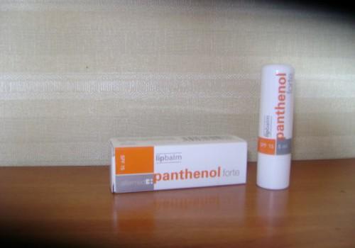 Panthenol lūpų balzamas