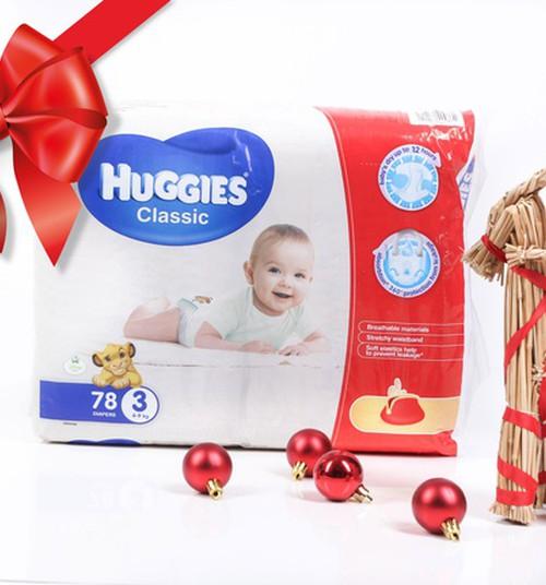 Ruoškis šventėms kartu su Huggies@Classic! Kasdienis Advento kalendorius su puikiais prizais!