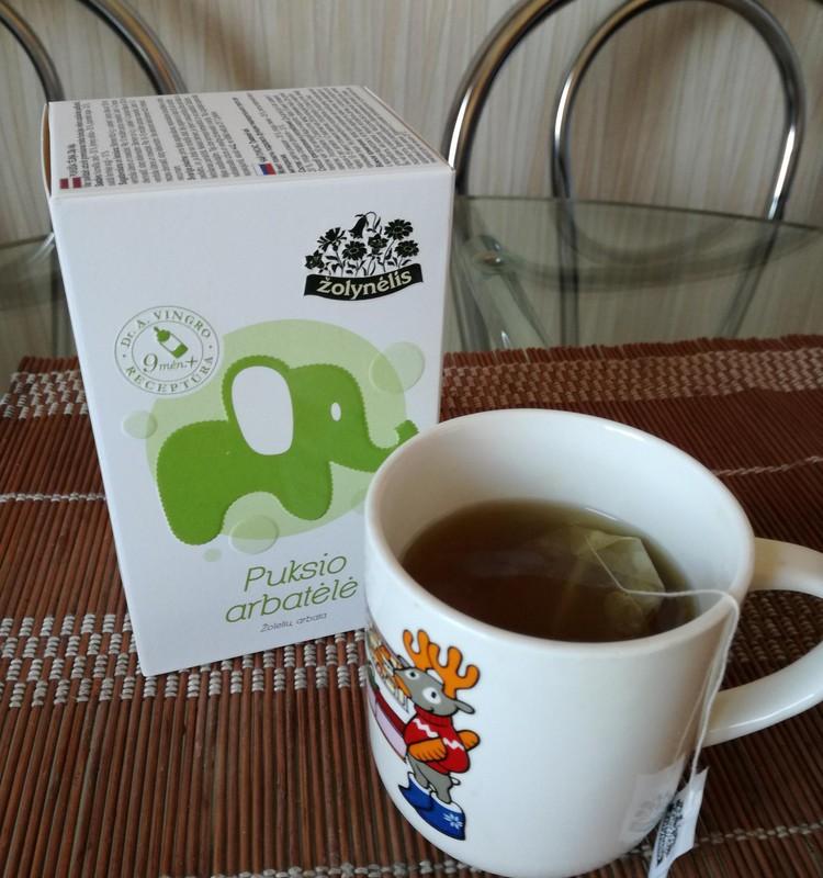 Šiandienos svečias - Puksio arbatėlė