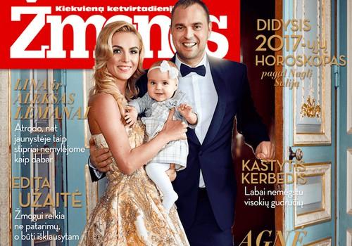 """Nauja laidos vedėja Indrė - """"Žmonių"""" žurnale!"""