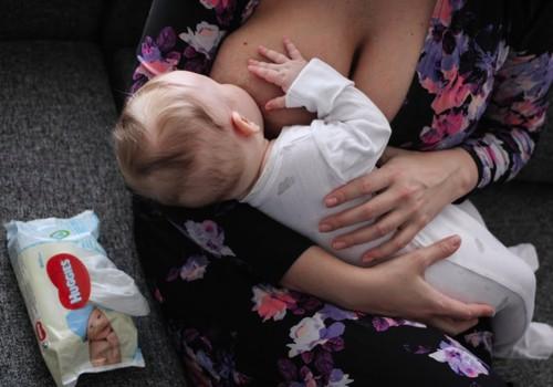 Kodėl mažylis muistosi, vos pradėjus žindyti?