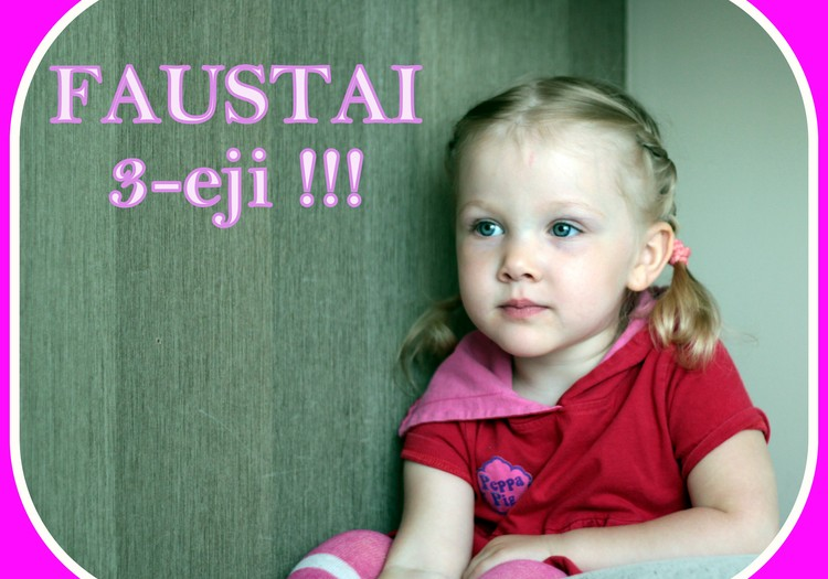 """Faustos 3-iojo """"Baltai rožinio taškuoto"""" gimtadienio akimirkos"""