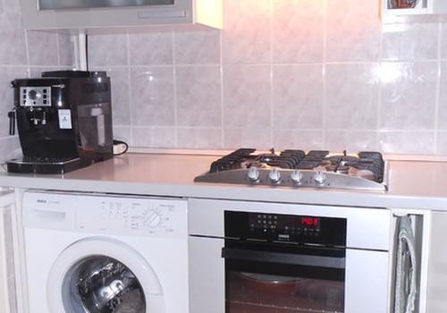 Naudotas virtuvinis komplektas su buitine technika