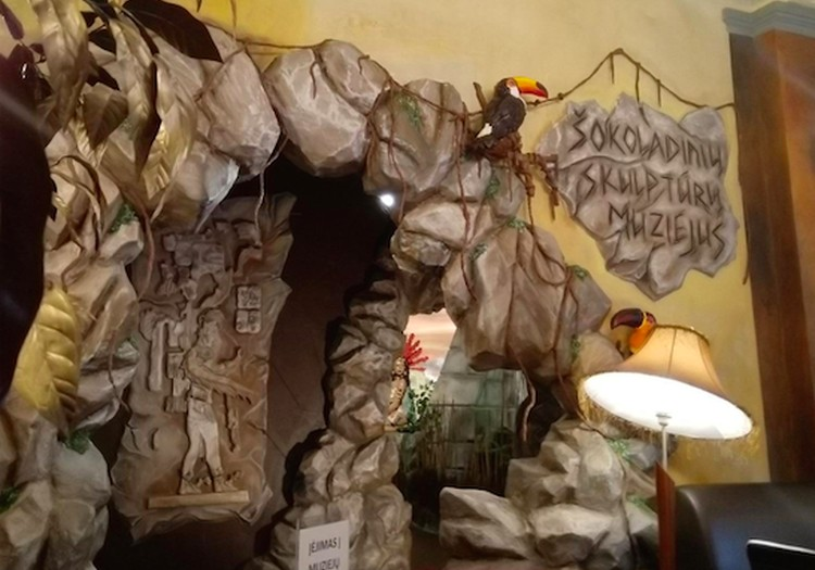 Šokoladinių skulptūrų muziejus