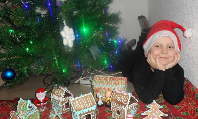 Kalėdinių tradicijų tąsa: nameliukai jau iškepti, dovanos paruoštos :)