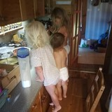 Pusryčių gamyba su pusseserėm