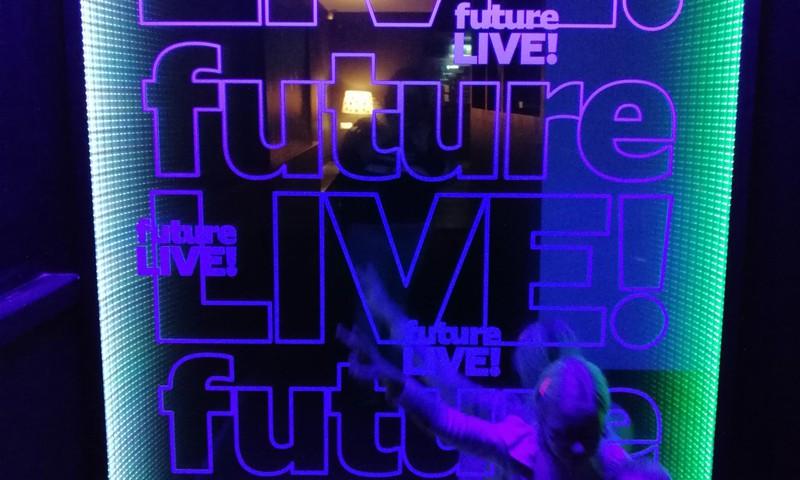Interaktyvi paroda Future m