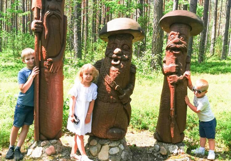 Išvyka į Zamečkavo skulptūrų parką