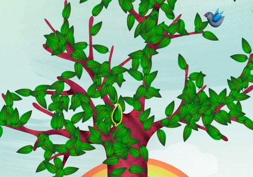 Vaikai kviečiami grąžinti Knygų medžius
