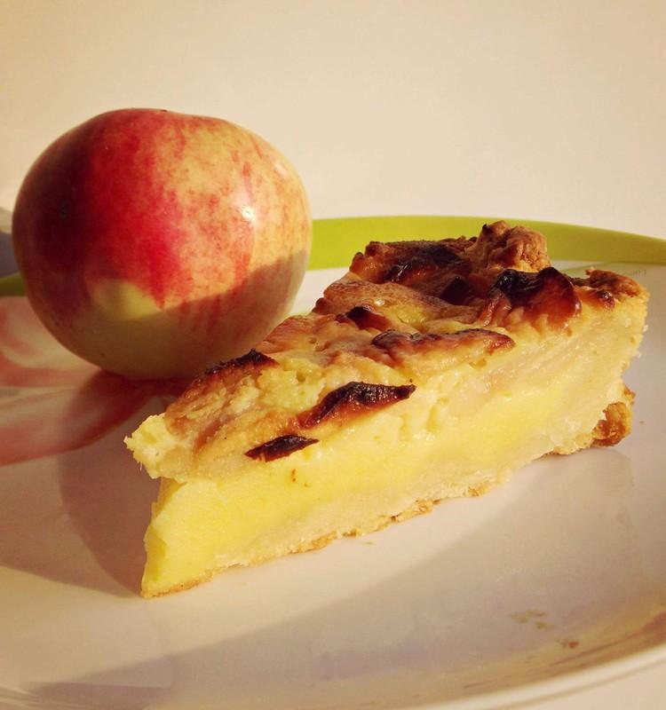 Dieviškas obuolių ir moliūgų pyragas