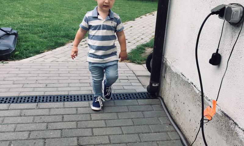 Ignotas Linas ruošiasi į darželį
